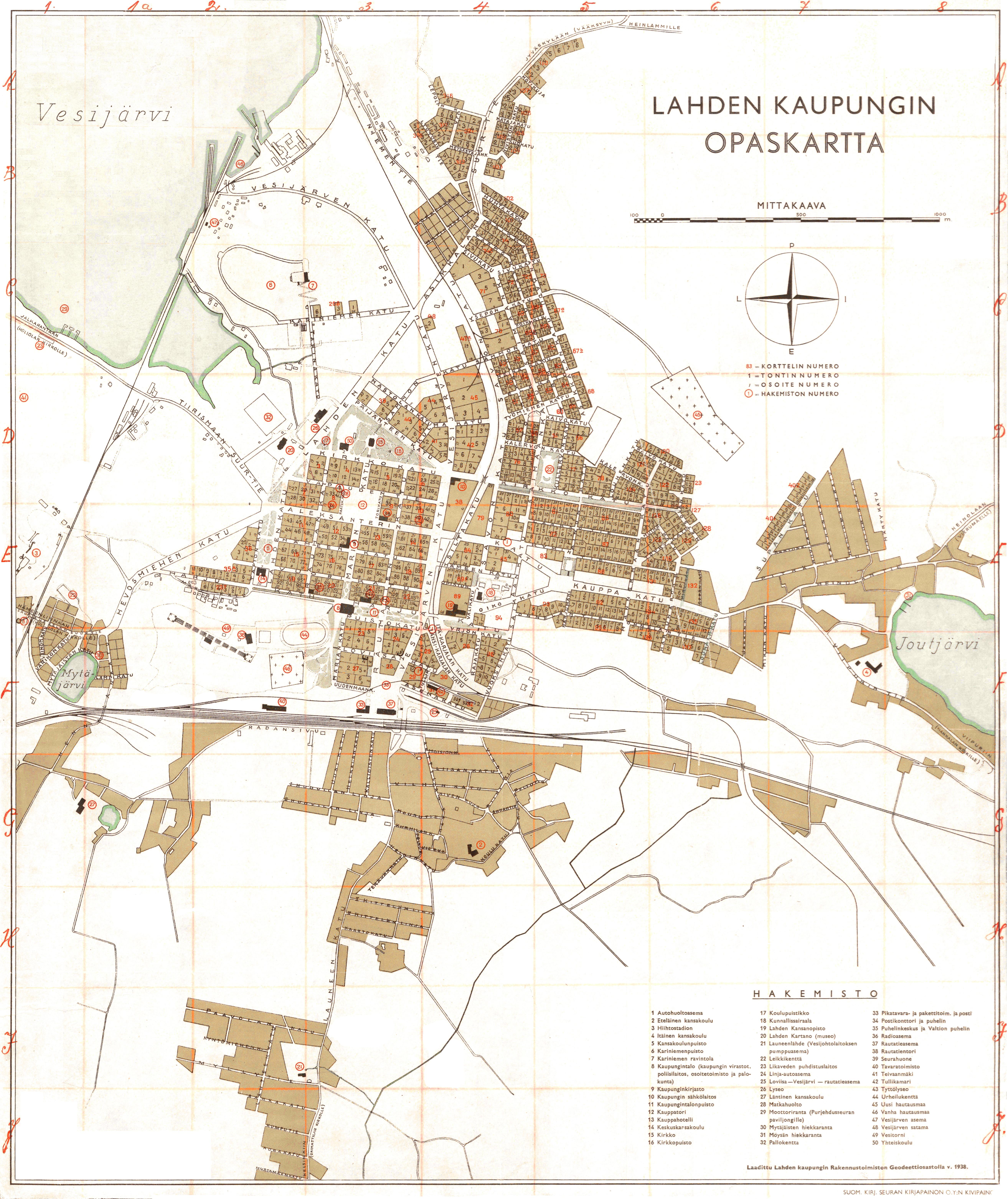 Kaupunkikartat