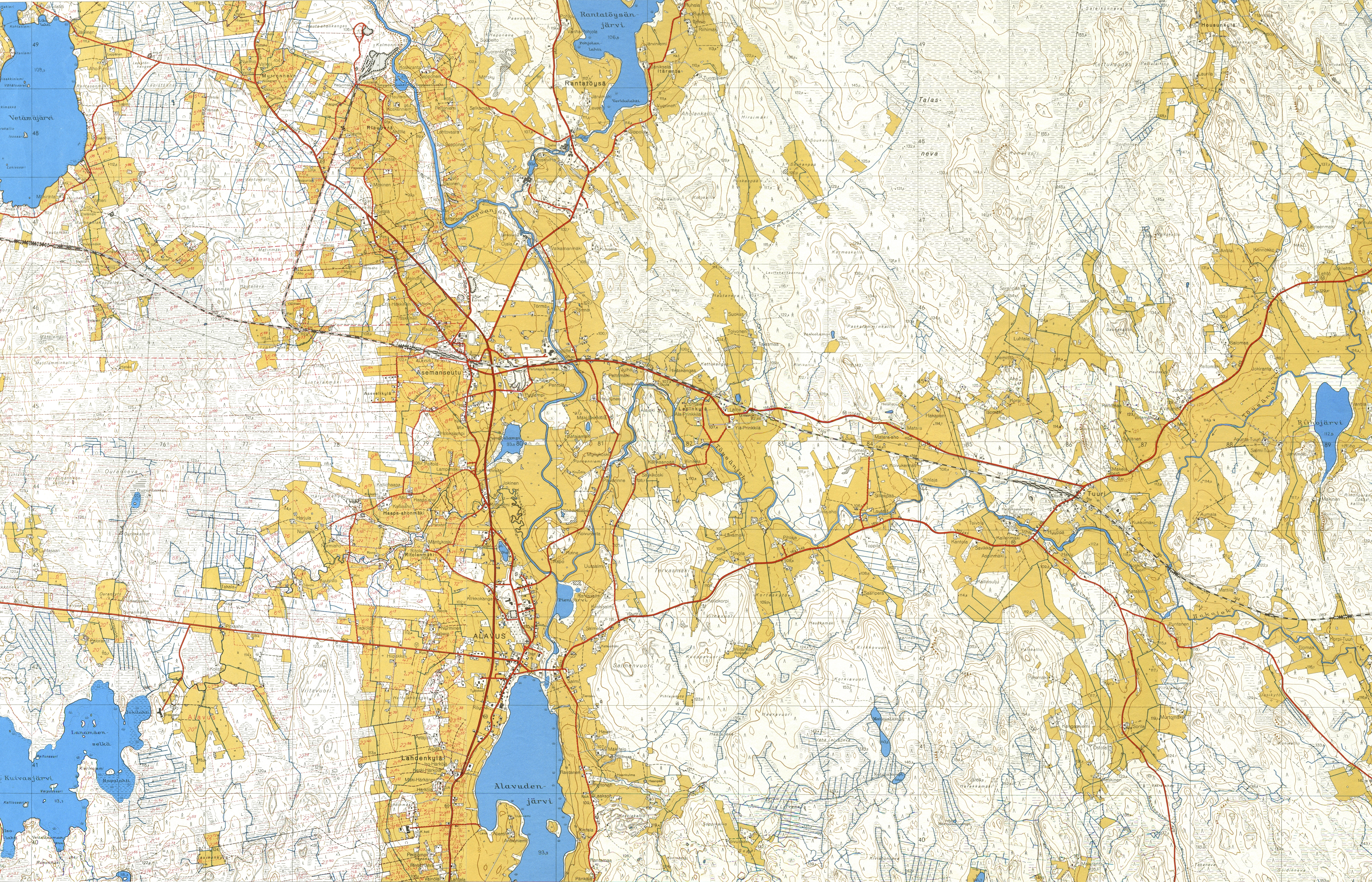 Peruskartat Ym Html