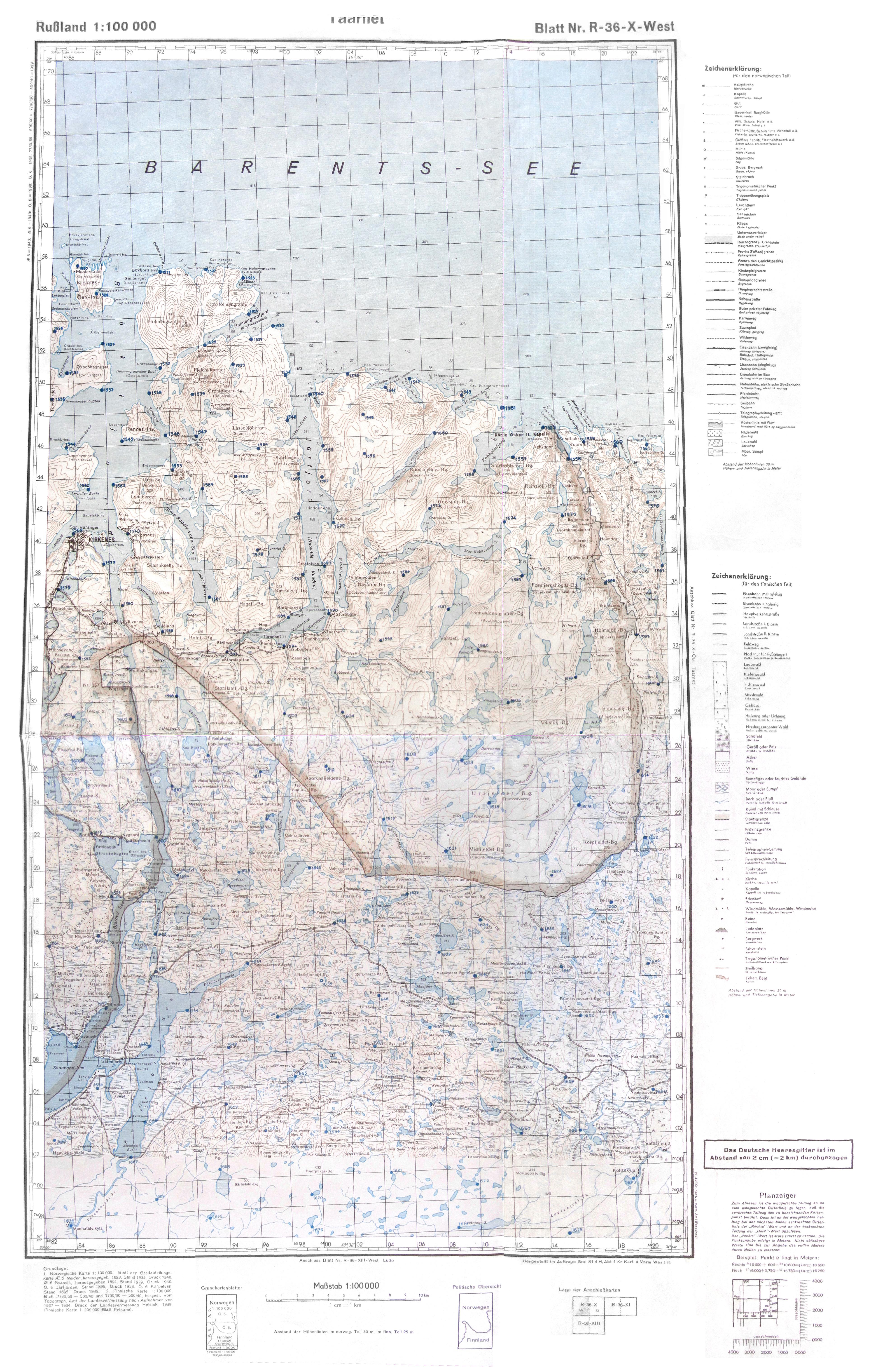 Saksalaiset Topografiset Kartat