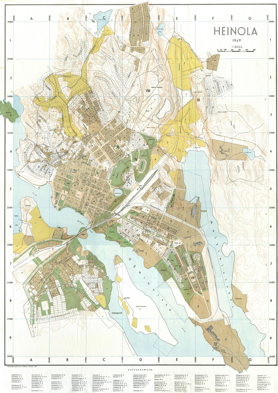 Tammisaari kartta