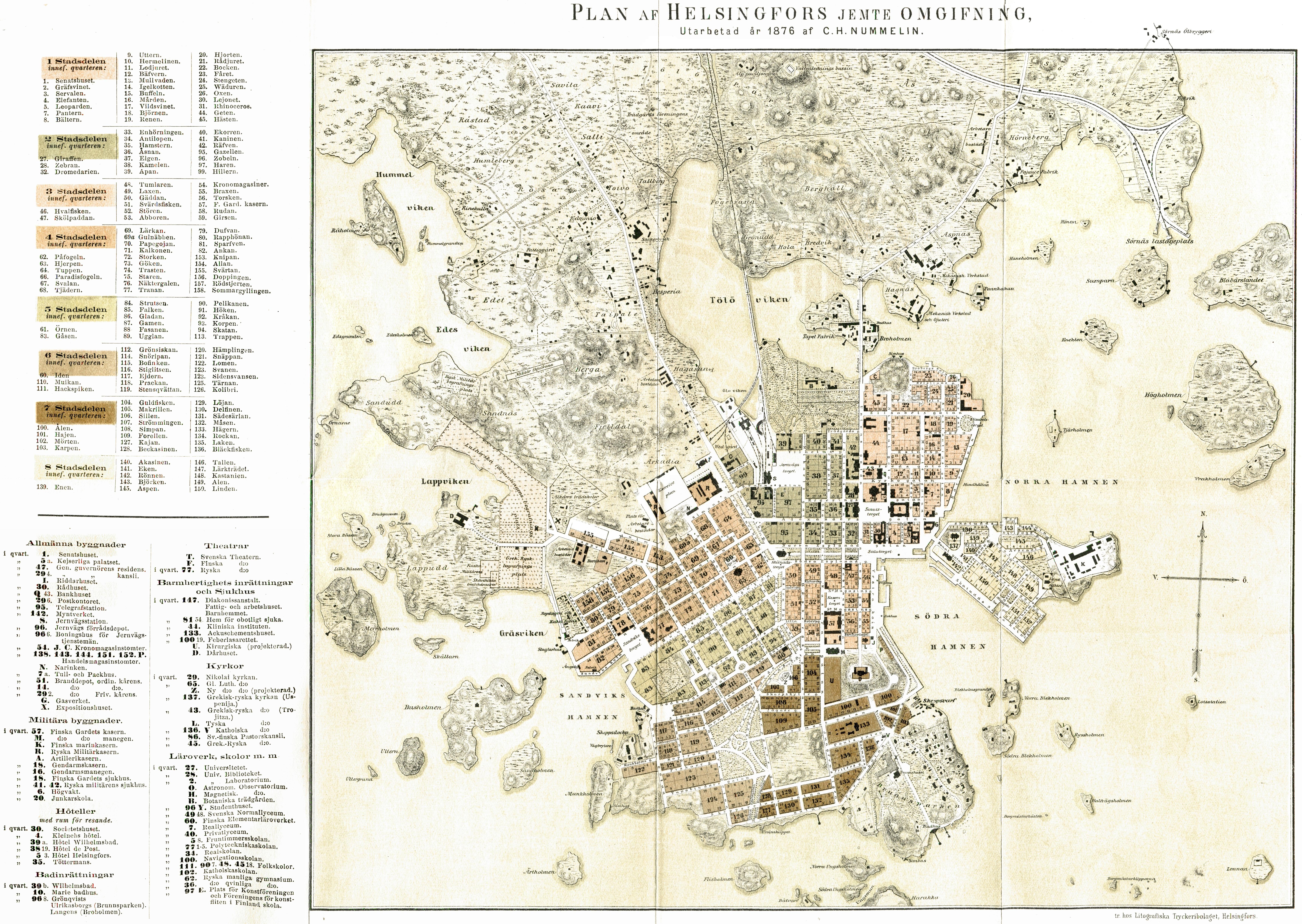 Helsinki kiinteistö kartta